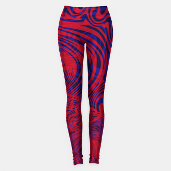 Miniature de image de Optical illusion 001 Leggings, Live Heroes