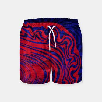 Miniature de image de Optical illusion 001 Swim Shorts, Live Heroes