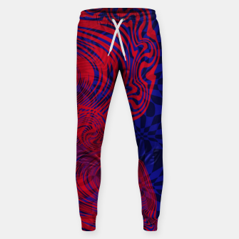 Miniature de image de Optical illusion 001 Sweatpants, Live Heroes