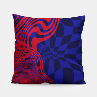 Miniature de image de Optical illusion 001 Pillow, Live Heroes