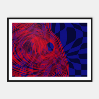 Miniature de image de Optical illusion 001 Framed poster, Live Heroes