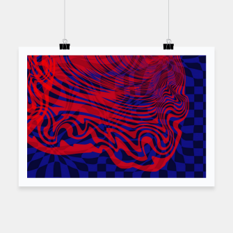 Miniature de image de Optical illusion 001 Poster, Live Heroes