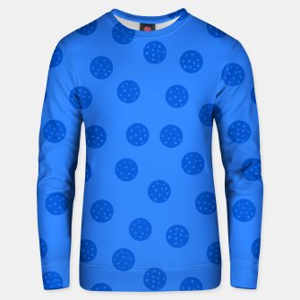 Thumbnail image of Dots With Points Blue Unisex sweater, Live Heroes