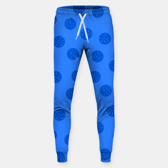 Thumbnail image of Dots With Points Blue Sweatpants, Live Heroes