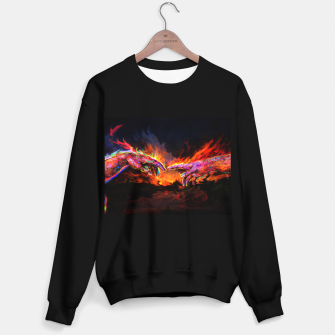 Miniatur the creation of adam michelangelo Sweater regular, Live Heroes