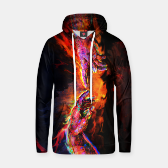 Miniatur the creation of adam michelangelo Hoodie, Live Heroes