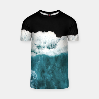 Deep Black Sea T-shirt Bild der Miniatur