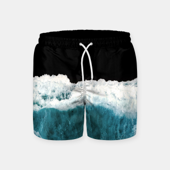 Thumbnail image of Deep Black Sea Swim Shorts, Live Heroes