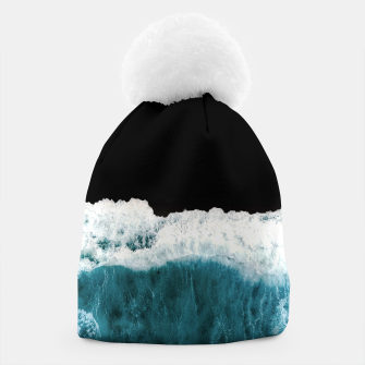 Thumbnail image of Deep Black Sea Beanie, Live Heroes