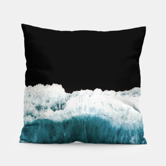 Thumbnail image of Deep Black Sea Pillow, Live Heroes