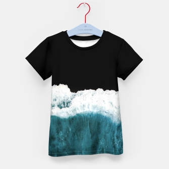 Deep Black Sea Kid's t-shirt Bild der Miniatur