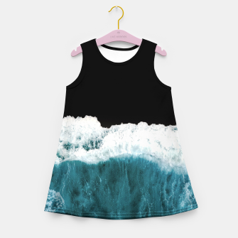 Thumbnail image of Deep Black Sea Girl's summer dress, Live Heroes