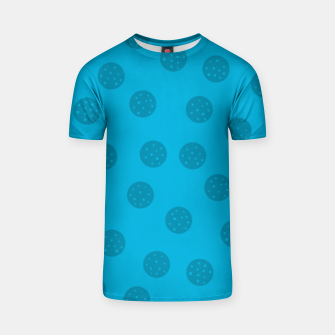 Thumbnail image of Dots With Points Blue T-shirt, Live Heroes