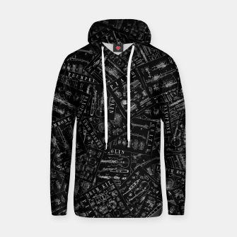 Thumbnail image of Musical Instrument Vintage Patent Pattern Hoodie, Live Heroes