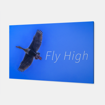 Miniaturka Fly High Concept Photography Canvas, Live Heroes