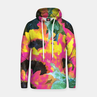 Pink Sunflower Hoodie thumbnail image
