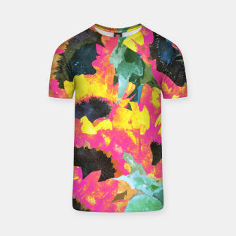 Pink Sunflower T-shirt thumbnail image