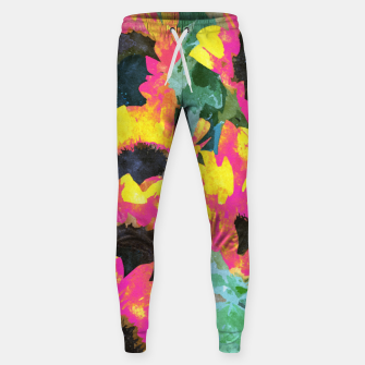 Pink Sunflower Sweatpants thumbnail image