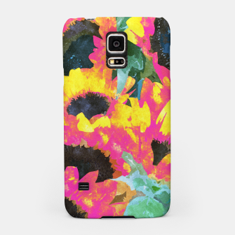 Pink Sunflower Samsung Case thumbnail image