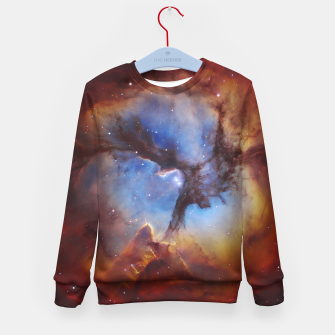 Thumbnail image of Galaxy Nebula Kid's sweater, Live Heroes