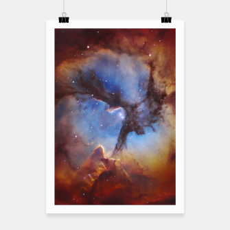 Thumbnail image of Galaxy Nebula Poster, Live Heroes