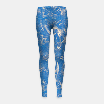 Thumbnail image of Brushed Girl's leggings, Live Heroes