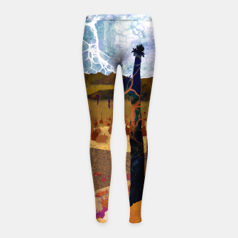 Miniaturka One stone Girl's leggings, Live Heroes