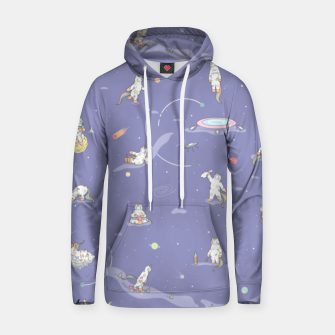 Thumbnail image of Weird Unicorn Cat in Space Hoodie, Live Heroes
