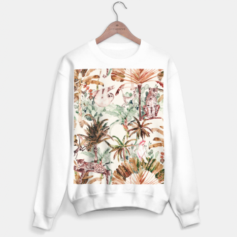 Thumbnail image of Wild jungle 79 Sudadera regular, Live Heroes