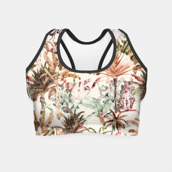 Thumbnail image of Wild jungle 79 Crop Top, Live Heroes