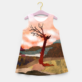 Miniaturka One tree Girl's summer dress, Live Heroes