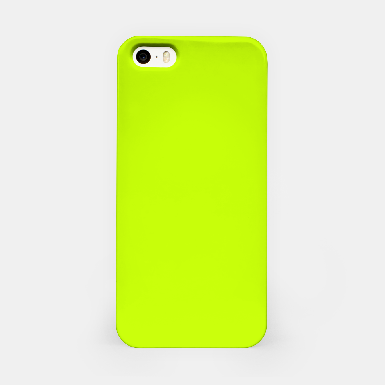 Imagen de Bitter Lime Neon Green Yellow Solid Color iPhone Case - Live Heroes