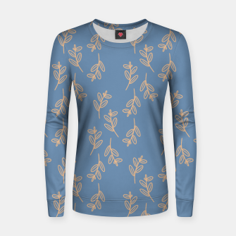 Thumbnail image of Feeling of lightness II - Steel Blue Women sweater, Live Heroes