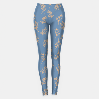 Thumbnail image of Feeling of lightness II - Steel Blue Leggings, Live Heroes