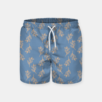 Thumbnail image of Feeling of lightness II - Steel Blue Swim Shorts, Live Heroes