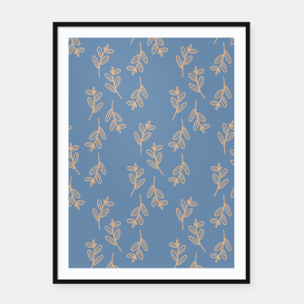 Thumbnail image of Feeling of lightness II - Steel Blue Framed poster, Live Heroes