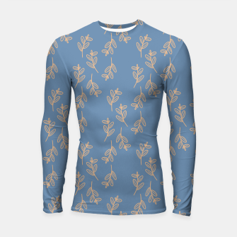 Thumbnail image of Feeling of lightness II - Steel Blue Longsleeve rashguard , Live Heroes