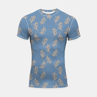 Thumbnail image of Feeling of lightness II - Steel Blue Shortsleeve rashguard, Live Heroes