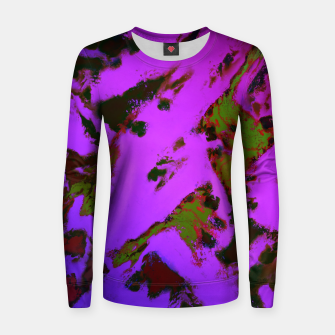 Thumbnail image of A softened evening Women sweater, Live Heroes