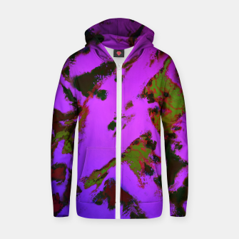 Thumbnail image of A softened evening Zip up hoodie, Live Heroes