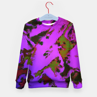 Thumbnail image of A softened evening Kid's sweater, Live Heroes