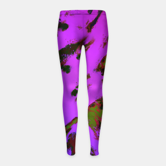Thumbnail image of A softened evening Girl's leggings, Live Heroes
