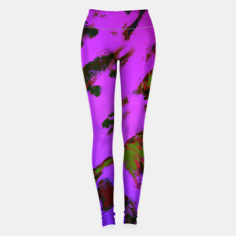 Thumbnail image of A softened evening Leggings, Live Heroes