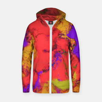 Thumbnail image of Avalanche Zip up hoodie, Live Heroes