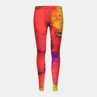 Thumbnail image of Avalanche Girl's leggings, Live Heroes