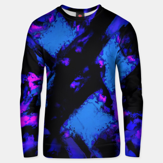 Thumbnail image of Breathing the deep blue Unisex sweater, Live Heroes