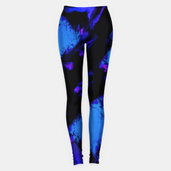 Thumbnail image of Breathing the deep blue Leggings, Live Heroes