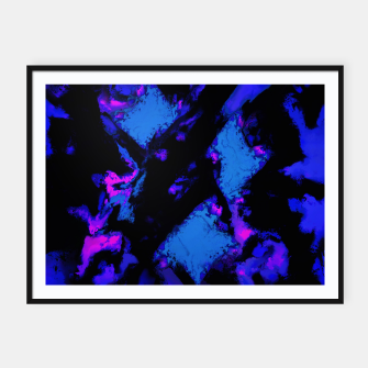 Miniatur Breathing the deep blue Framed poster, Live Heroes
