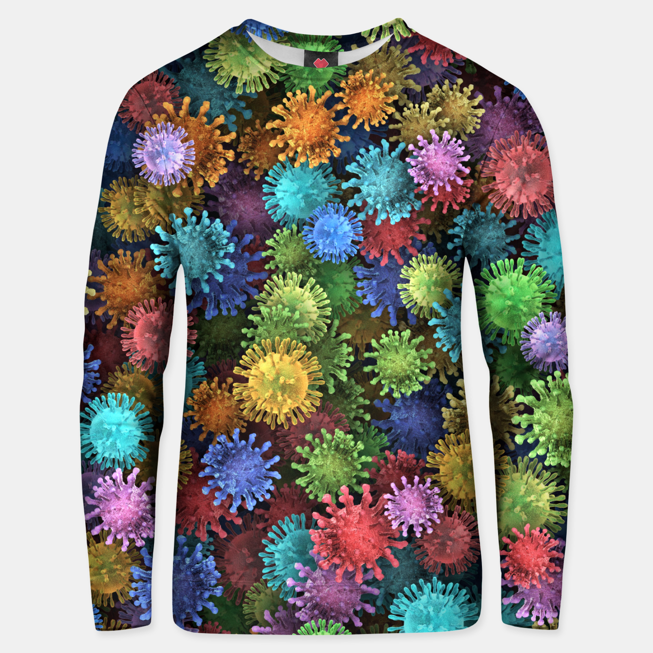 Image of Сolorful viruses Unisex sweater - Live Heroes