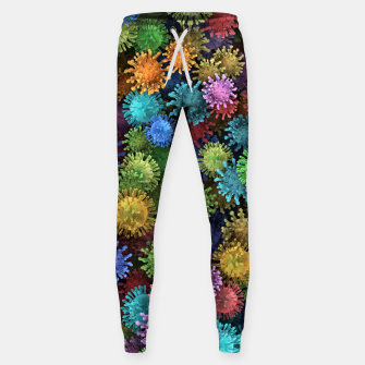 Сolorful viruses Sweatpants miniature